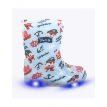 Bottes PIRATE Kids Flash LED - Be Only