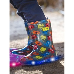 Bottes Monster Kid Flash LED - Be Only