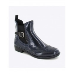Bottines de pluie Apoline Ardoise - Be Only