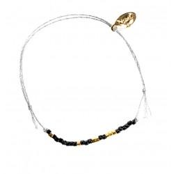 Bracelet MIYUKI - Noir