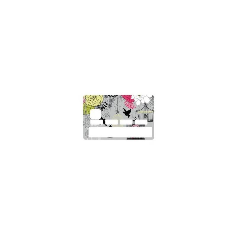 Sticker CB Liberty Birds - Upper&Co