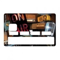 Sticker Music On Air - Upper&Co
