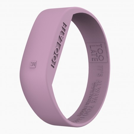 Montre silicone Pastel Pink LED - Too Late