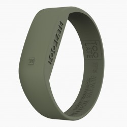 Montre silicone Army Green LED - Too Late