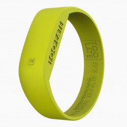 Montre silicone Acid Yellow LED - Too Late