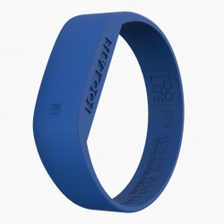 Montre silicone Electro Blue LED - Too Late