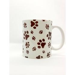 Mug - Empreintes de pattes