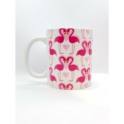 Mug - Flamant rose