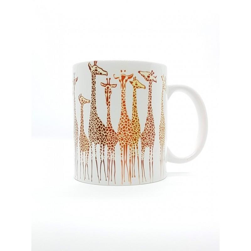 Mug - Girafes safari