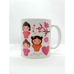 Mug - Poupées kimmidoll