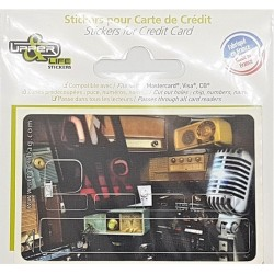 Sticker Music On Air - Upper&Co