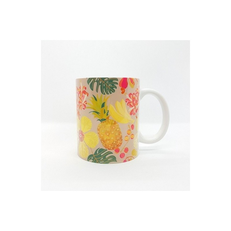 Mug - Ananas/Fleurs