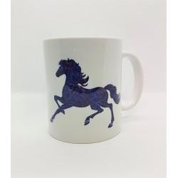 Mug - Cheval bleu
