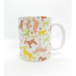 Mug - Chiens traits