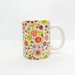Mug - Fleurs champêtres multi