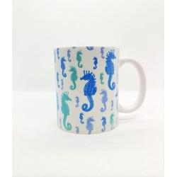 Mug - Hyppocampe bleu