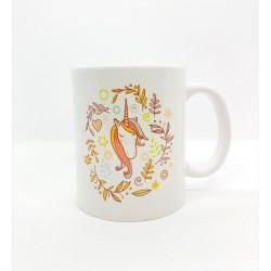 Mug - Licorne médaillon