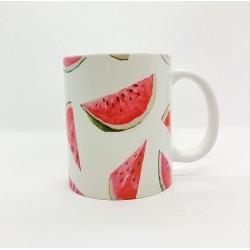 Mug - Pastèque fond blanc