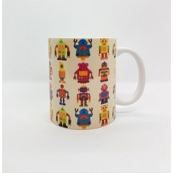 Mug - Robots multi