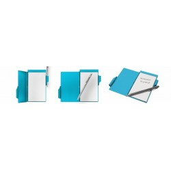 Bloc-note GEOMETRIQUE Bleu - Wellspring