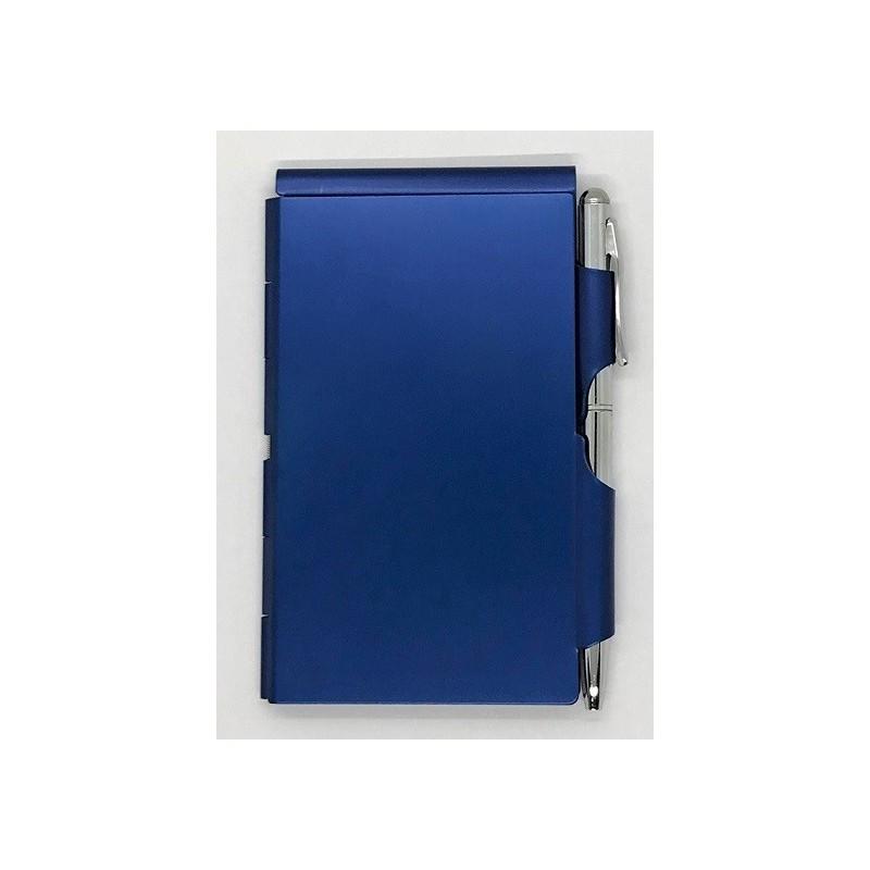 Bloc-note SIMPLE Bleu - Wellspring