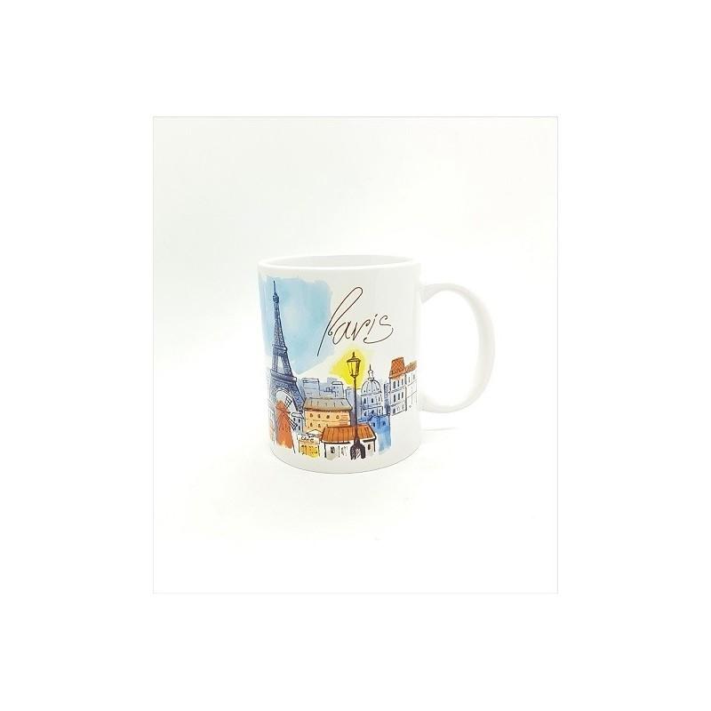 Mug - Paris bleu