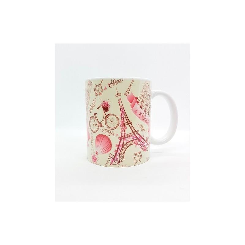 Mug - Paris rose