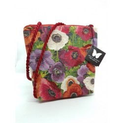Sac bandoulière COQUELICOTS multi - Belly Moden