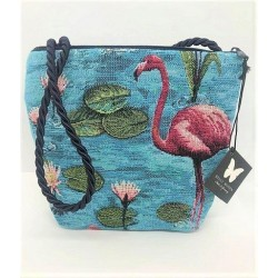 Sac bandoulière FLAMANT Rose - Belly Moden