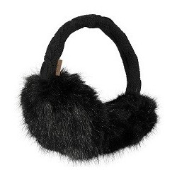Cache-oreilles FUR noir - Barts