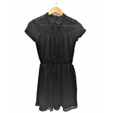 Robe col chemise XM30074 - IKKS Junior