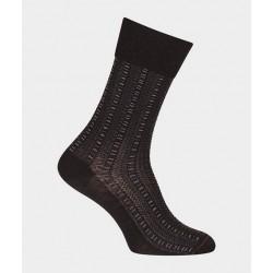 Chaussettes ajourées en laine 38984 Noir - Labonal