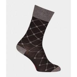 Chaussettes croisillons en laine 38997 Noir - Labonal