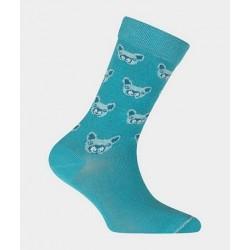 Chaussettes kids en coton 43706 Bleu - Labonal