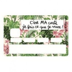 Sticker CB C'est ma carte!...