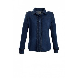 Chemise en jeans A6290 - Le Petit Baigneur