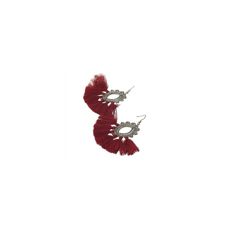 Boucles d'oreilles MIG Rouge - The Moshi