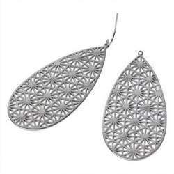 Boucles d'oreilles ELLY Silver - The Moshi