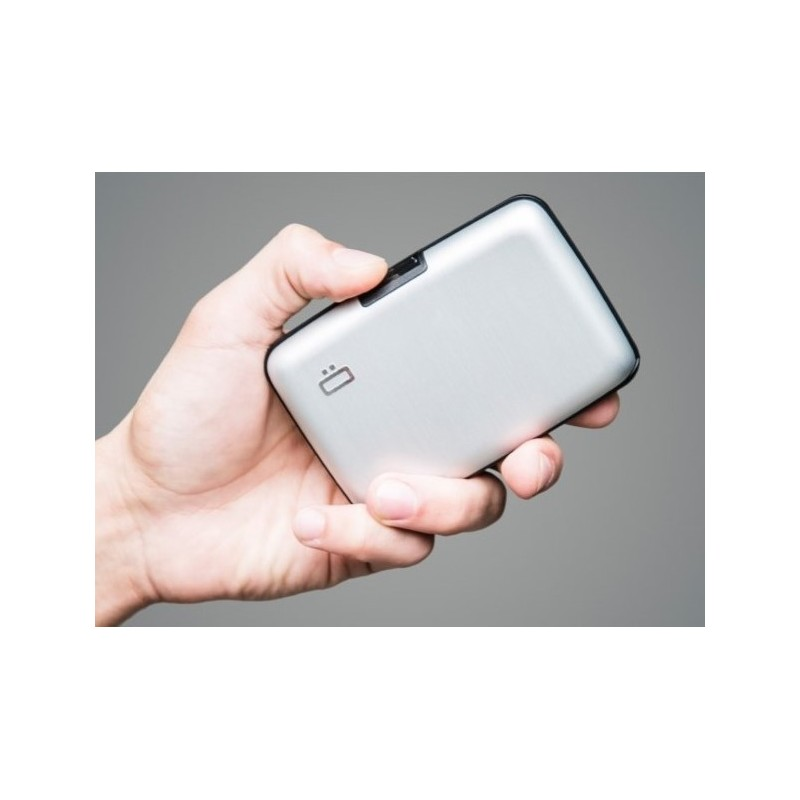 Porte-cartes sécurité RFID Silver - Ögon