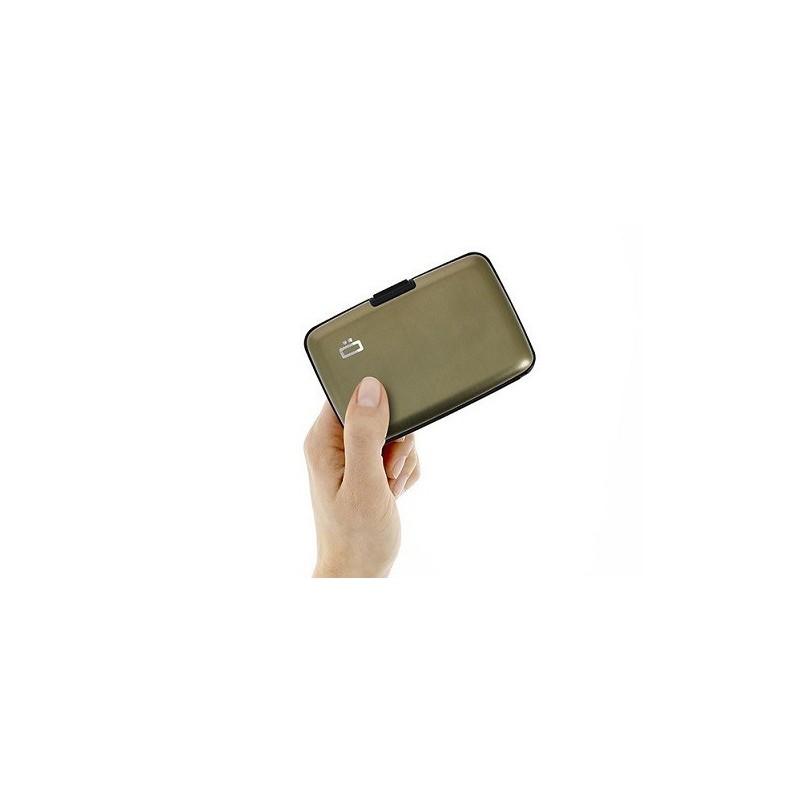 Porte-cartes sécurité RFID Dark Grey - Ögon