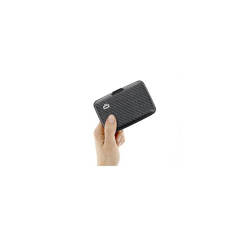 Porte-cartes sécurité RFID Carbon - Ögon