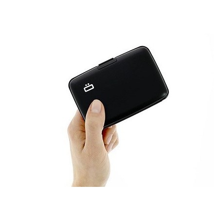Porte-cartes sécurité RFID Black - Ögon
