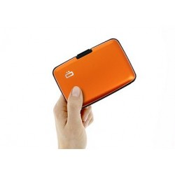 Porte-cartes sécurité RFID Orange - Ögon