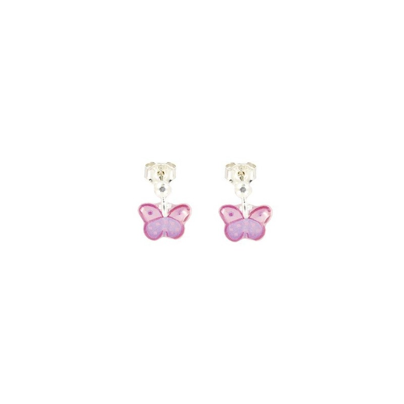 Boucles d'Oreilles pendantes PAPILLON - Ribambelle