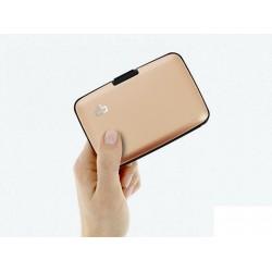 Porte-cartes sécurité RFID Rose Gold - Ögon