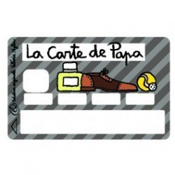 Sticker CB Carte de Papa - Upper&Co
