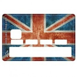 Sticker CB UK Flag Vintage - Upper&Co