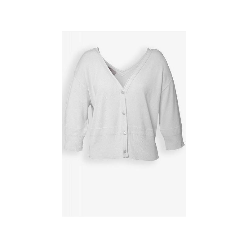 Gilet blanc A7179 - Le Petit Baigneur