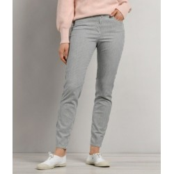 Pantalon rayé bleu PERLECO-11785- Mat de Misaine