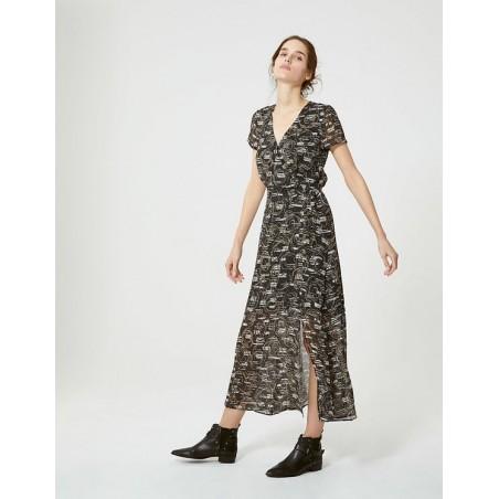 Robe longue imprimée BN30535 - IKKS Women